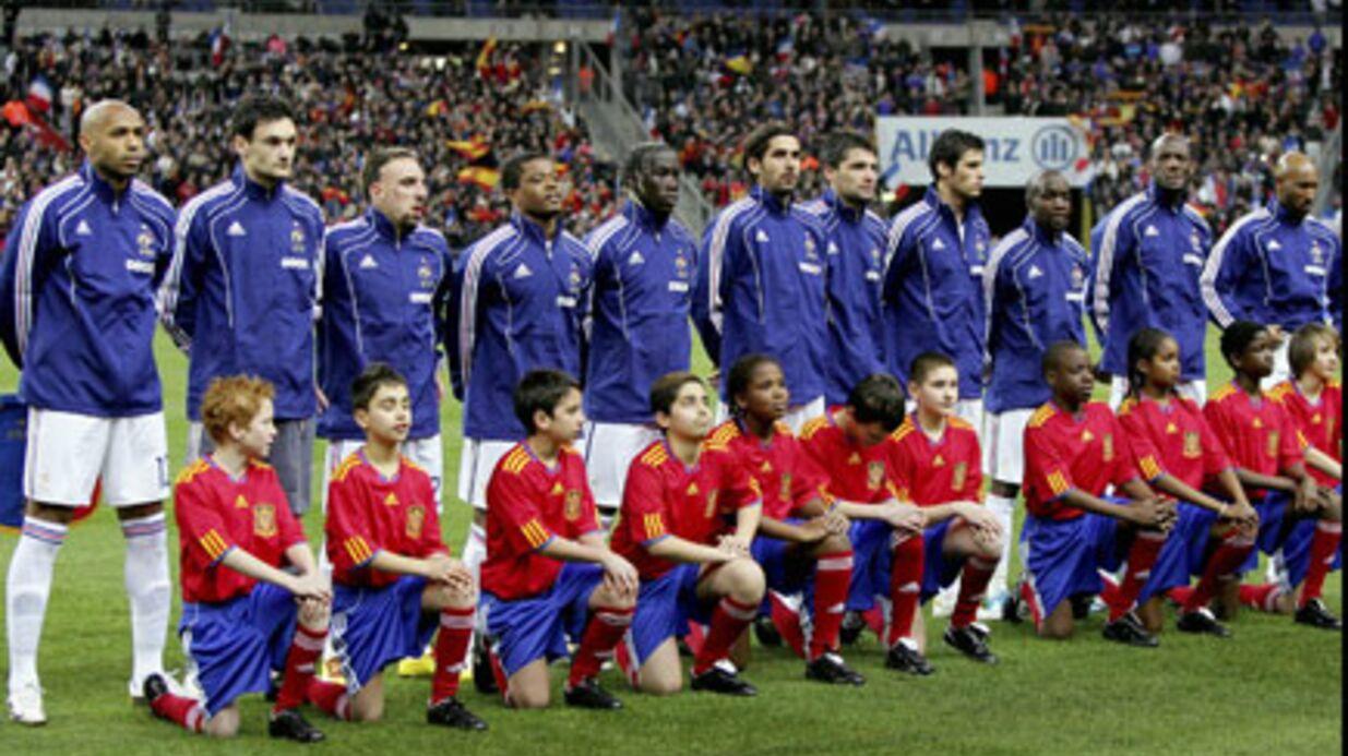 L'équipe de France: bagarre générale dans le bus