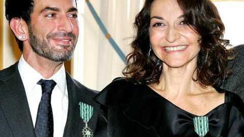 Marc Jacobs et Nathalie Rykiel dans l'Ordre des Arts et des Lettres