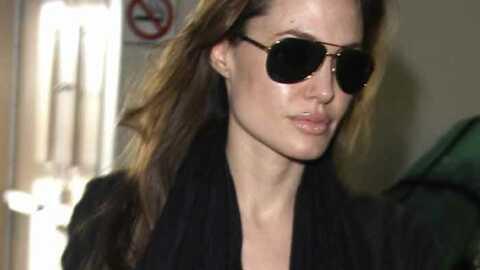 Angelina Jolie: un tatouage relance les rumeurs d'adoption