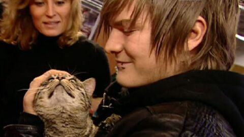 Star Academy 8: Gautier adopte un chat