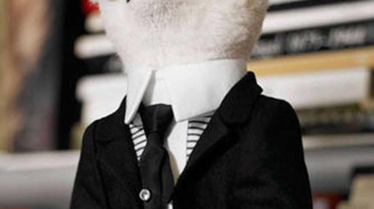Karl Lagerfeld lance un nounours à son effigie