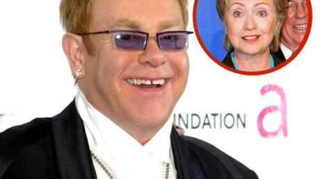 Elton John Super généreux avec Hillary