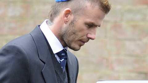 David et Victoria Beckham: l'adieu au grand-père du footballeur