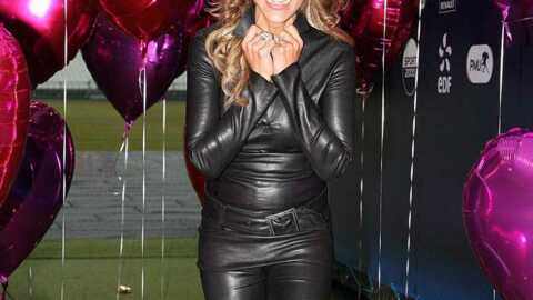 LOOK Cathy Guetta très sexy en Catwoman