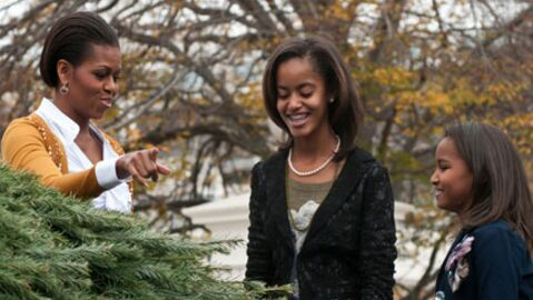 Michelle Obama: ses filles privées de Facebook