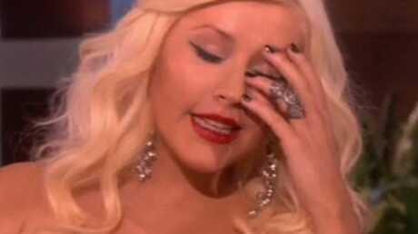 PHOTO Christina Aguilera sans maquillage: Oh mon dieu!