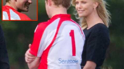 Prince Harry très proche de Charlize Theron