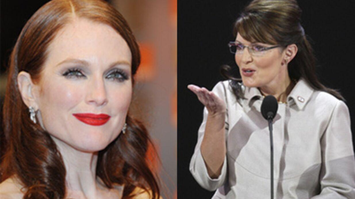 Julianne Moore va incarner Sarah Palin à l'écran