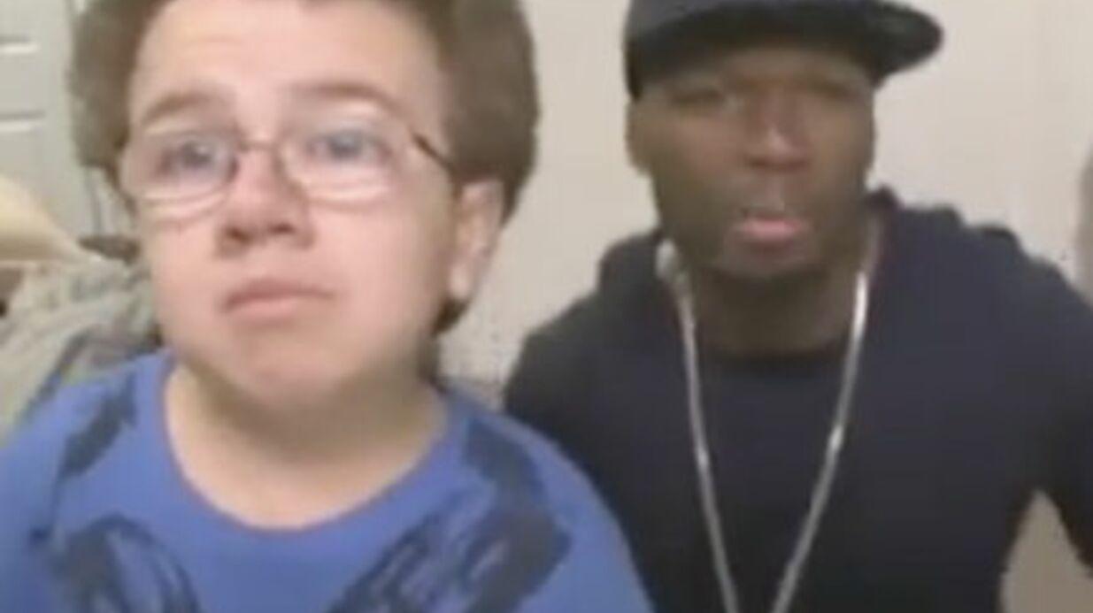 VIDEO: 50 Cent à la rescousse du petit garçon étrange