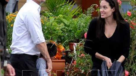 Angelina Jolie: photos de son sein dans W