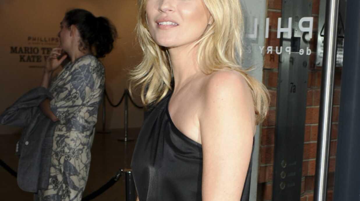 Kate Moss se lance dans… la confiture