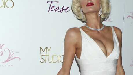 PHOTO Paris Hilton en Marilyn Monroe pour son parfum
