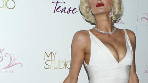 PHOTO Paris Hilton en Marilyn Monroe pour son parfum