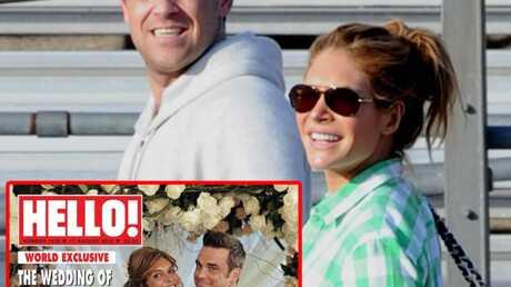 Robbie Williams et Ayda Field: la photo du mariage