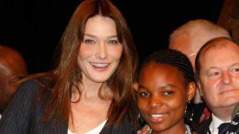 Carla Bruni ambassadrice contre le sida au Burkina Faso