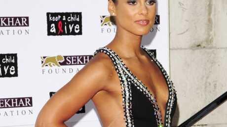 Alicia Keys a un problème de poids
