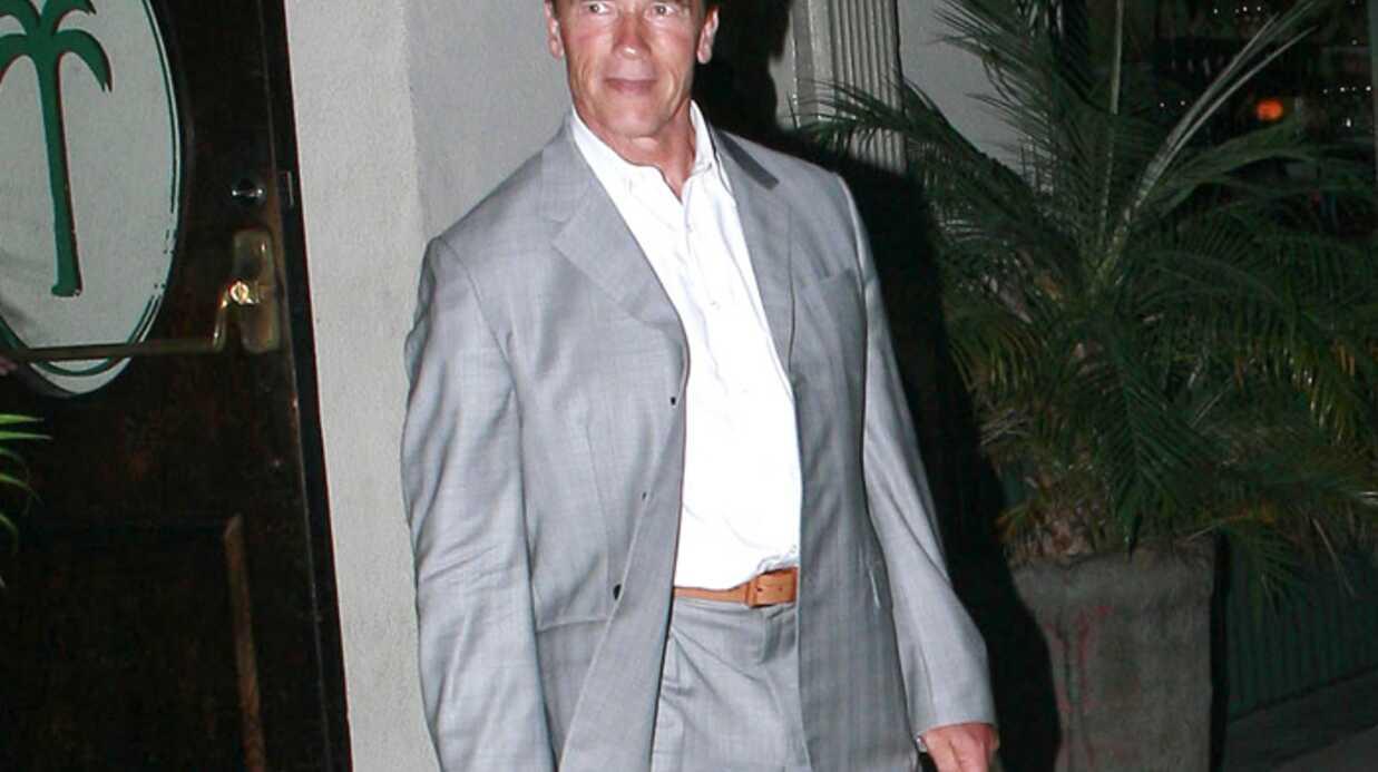 Arnold Schwarzenegger Fier de son fils