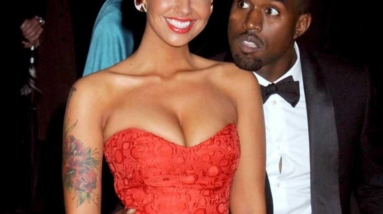 Kanye West a rompu avec sa petite amie Amber Rose