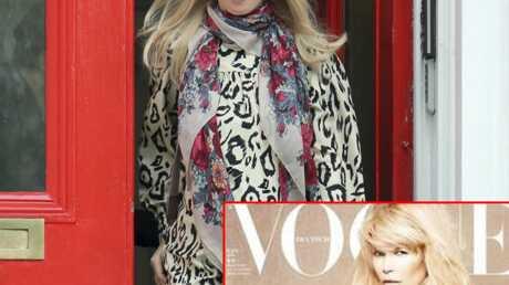 PHOTO Claudia Schiffer nue et enceinte dans Vogue
