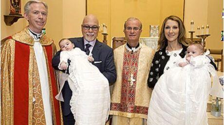 Céline Dion: première photo du baptême de ses jumeaux