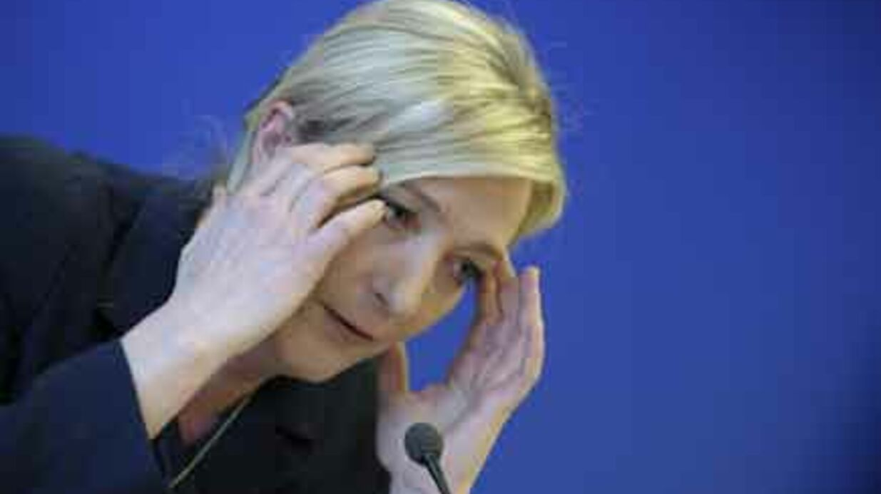 Les people du PAF face à Marine Le Pen