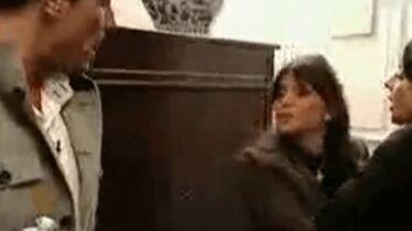 Audrey: «il a levé la main sur moi»