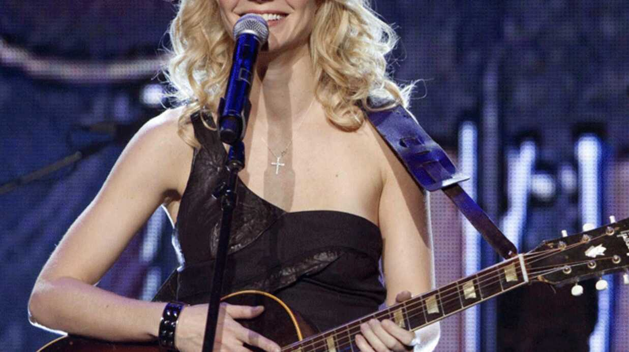 VIDEO Gwyneth Paltrow chante en live