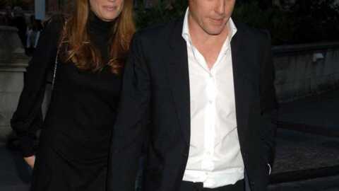 Hugh Grant Revenu avec son ex?