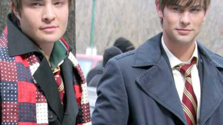Gossip Girl: Chace Crawford et Ed Westwick sont sales