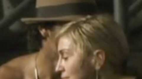 VIDEO Madonna et Jesus Luz à Rio de Janeiro