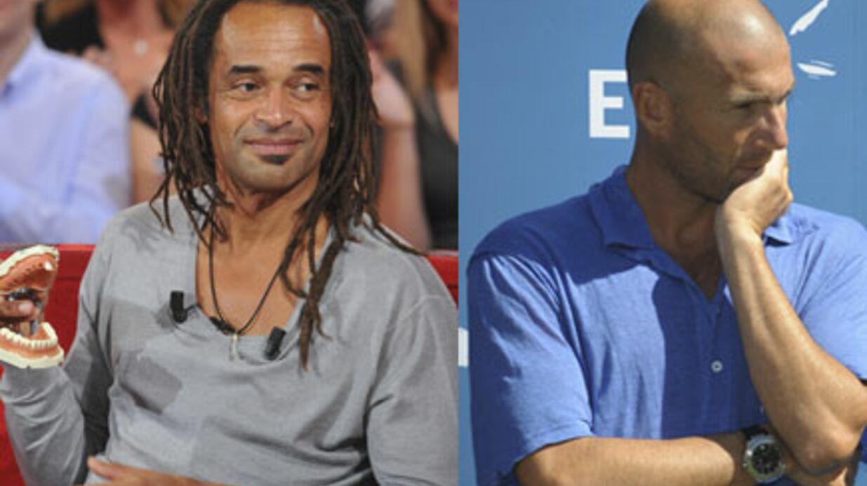 Yannick Noah critique Zinédine Zidane