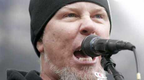 Metallica: James Hetfield terrassé par une huître suédoise