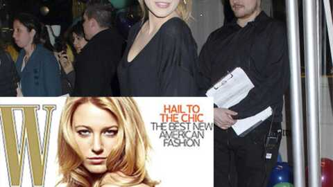 Gossip Girl : Blake Lively sexy en interview dans W