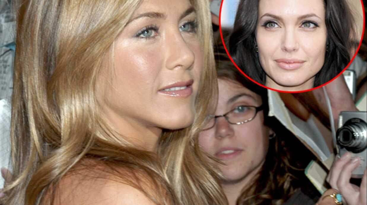 Jennifer Aniston en veut à Angelina Jolie