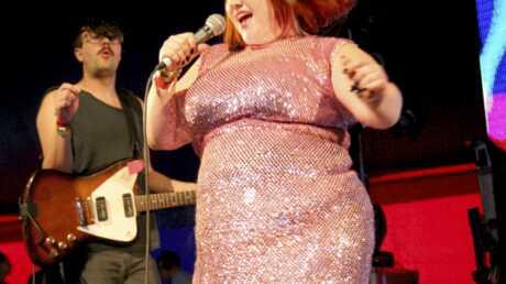 Beth Ditto lancera Noël au BHV mardi à Paris