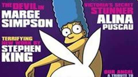 Marge Simpson dévoile ses charmes pour Playboy