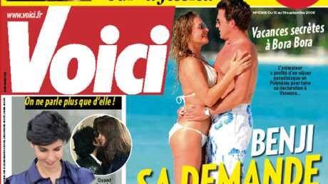 Demain dans Voici: Benjamin Castaldi veut se marier, photos exclus de Jean Sarkozy