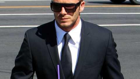 David Beckham Presqu'à poil