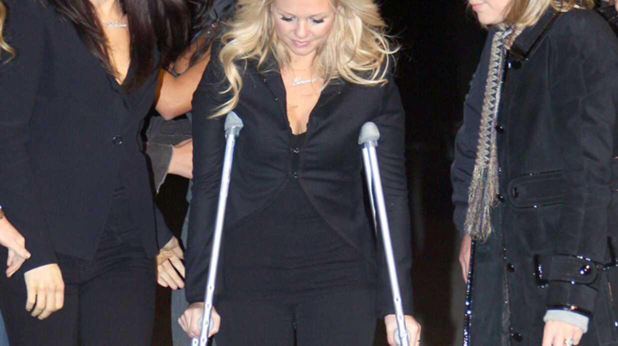 Spice girls Emma Bunton blessée!