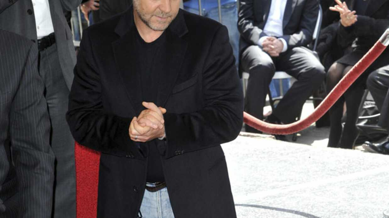 Russell Crowe a son étoile au Walk of Fame d'Holly­wood