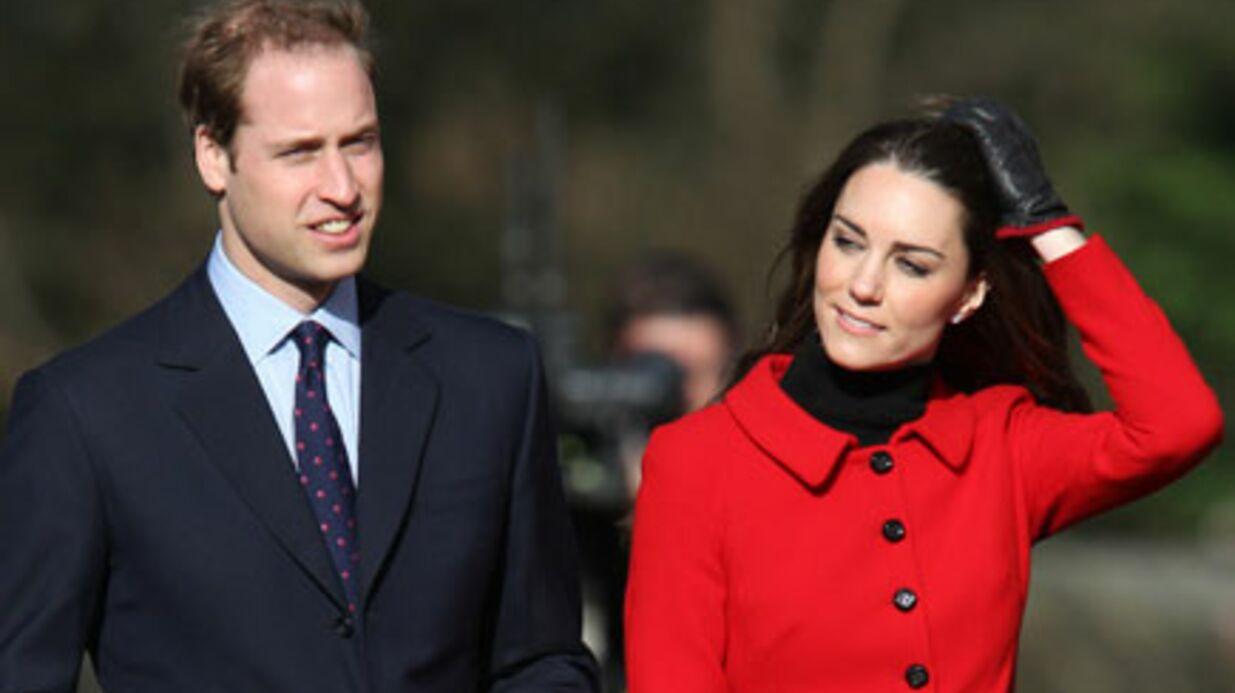 William et Kate Middleton frôlent l'accident en vacances