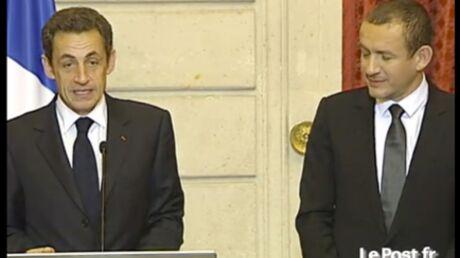 VIDEO Dany Boon décoré: le discours de Nicolas Sarkozy