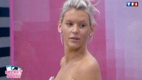 VIDEO Secret Story 4: Amélie essaie sa robe de mariée