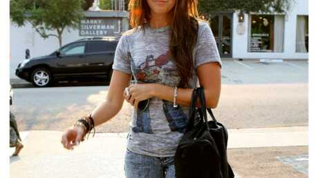 LOOK Ashley Tisdale et son t-shirt Goldorak