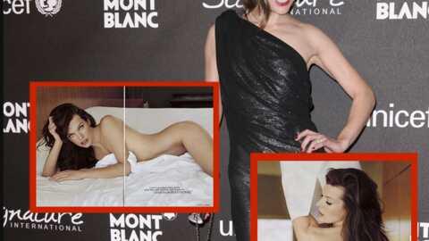 Milla Jovovich pose nue pour le magazine Maxim