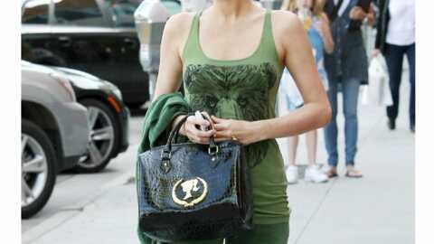LOOK Paris Hilton se la joue géant vert