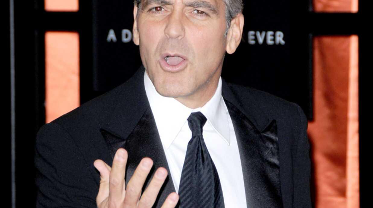 George Clooney Il veut la paix