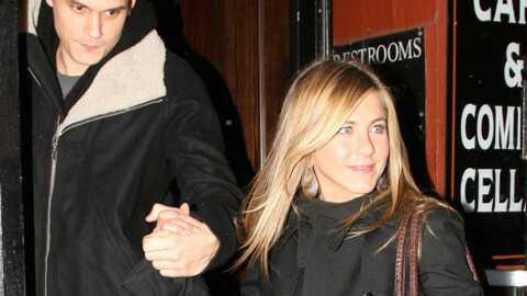 Jennifer Aniston: son chien déteste son copain, John Mayer