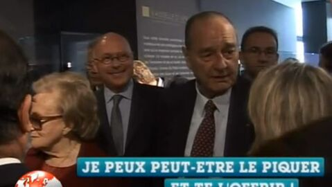 VIDEO Jacques Chirac : encore un plan drague devant Bernadette