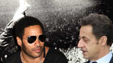 Nicolas Sarkozy adore la musique de Lenny Kravitz.